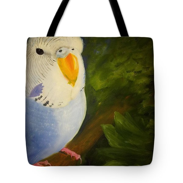 The Baby Parakeet - Budgie Tote Bag