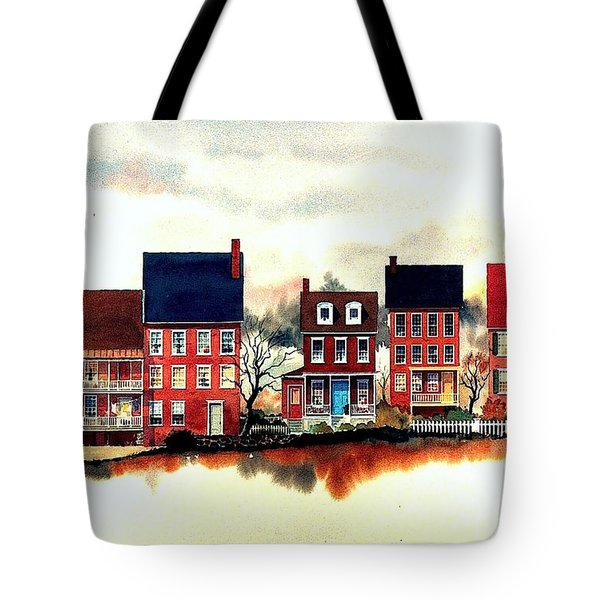 The Back Of The Strand Tote Bag