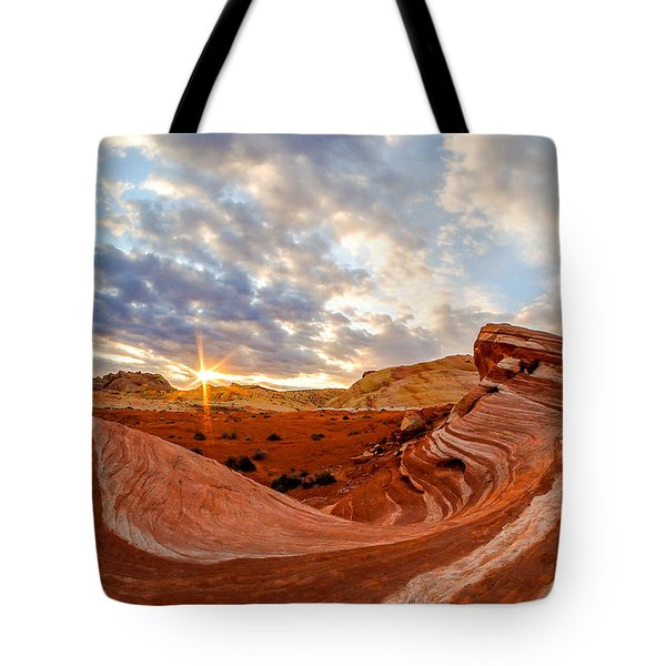 The Bacon Wave Tote Bag