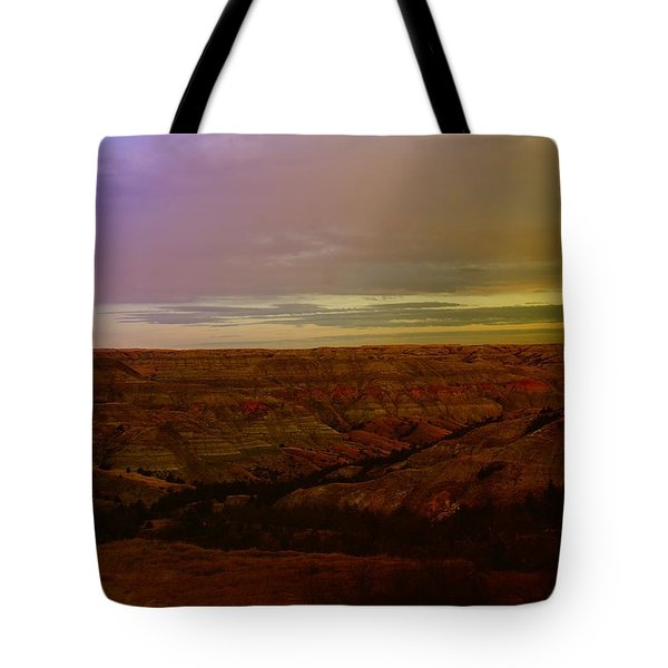 The Badlands Tote Bag by Jeff Swan