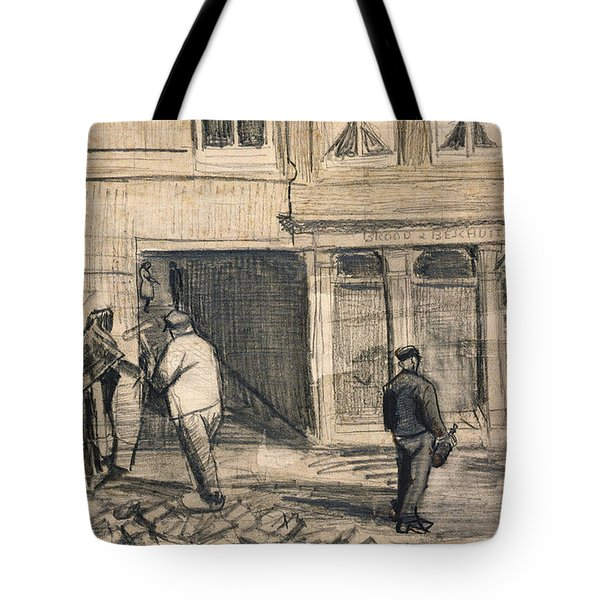 The Bakery In De Geest Tote Bag by Vincent Van Gogh