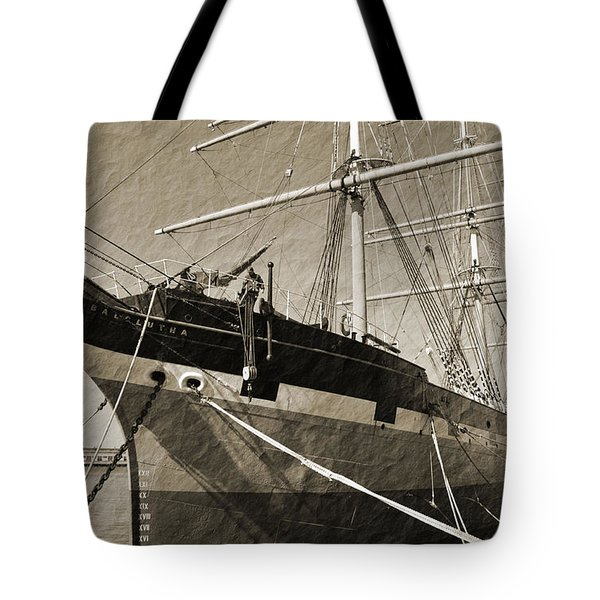 The Balclutha Tote Bag by Holly Blunkall