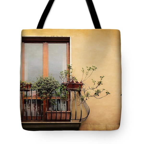 The Balcony Tote Bag