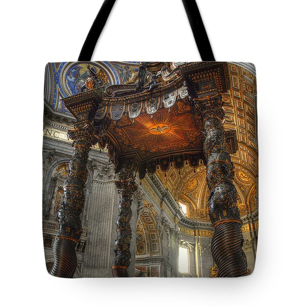 The Baldaccino Of Bernini Tote Bag