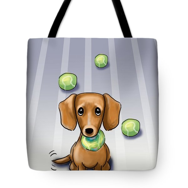 The Ball Catcher Tote Bag