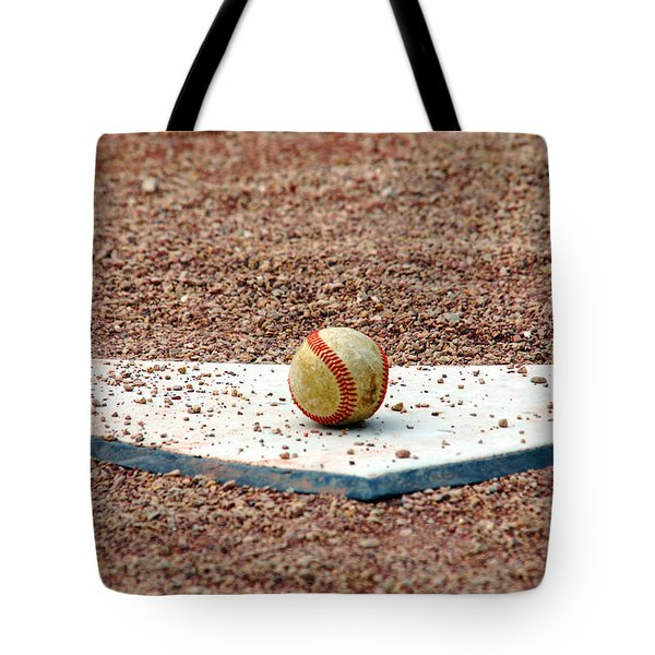 The Ball Of Field Of Dreams Tote Bag