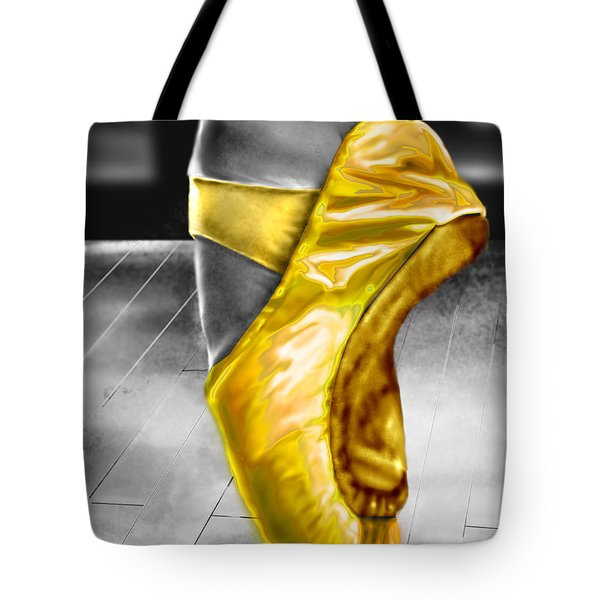The Ballerina N Yellow  Tote Bag