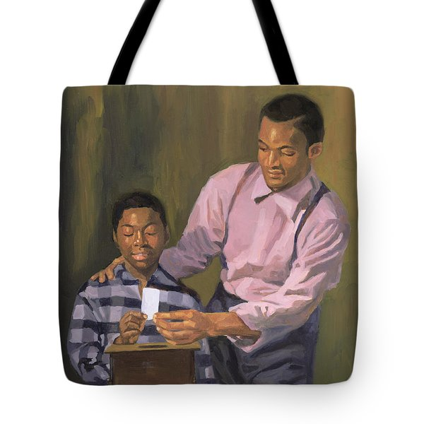 The Ballot Box Tote Bag by Colin Bootman