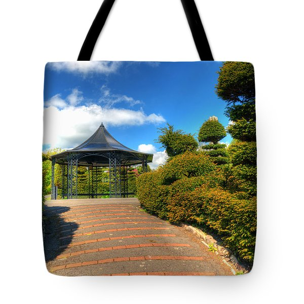 The Bandstand Tote Bag by Steve Purnell