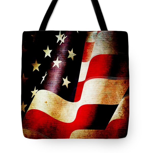 The Banner Yet Waves Tote Bag by Angelina Vick