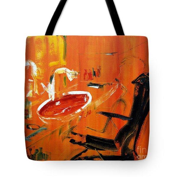 The Barbers Shop - 3 Tote Bag