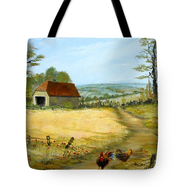 The Barn At The Farm Tote Bag