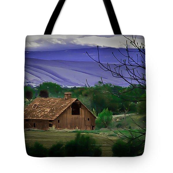 The Barn Tote Bag by Robert Bales