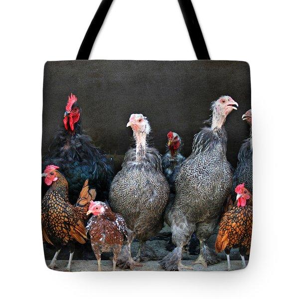The Barnyard Gang Tote Bag by Lori Deiter