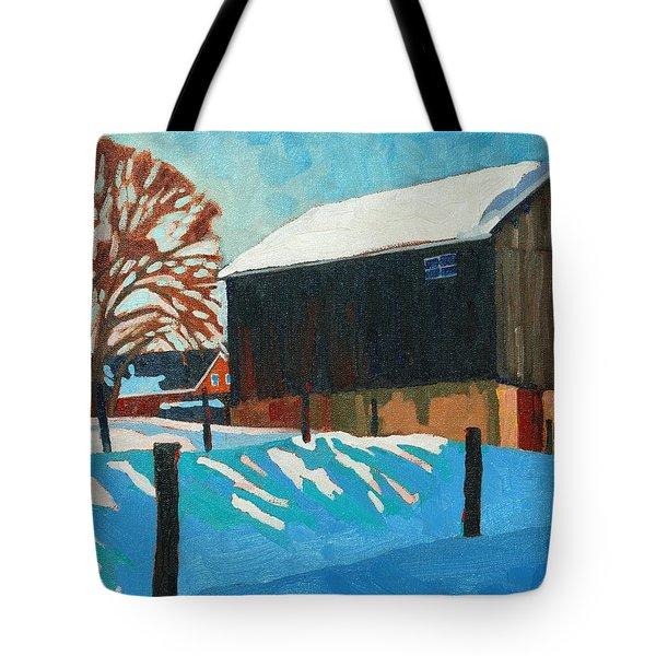The Barnyard Tote Bag