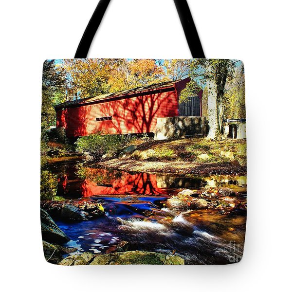 The Bartram Coverd Bridge Tote Bag