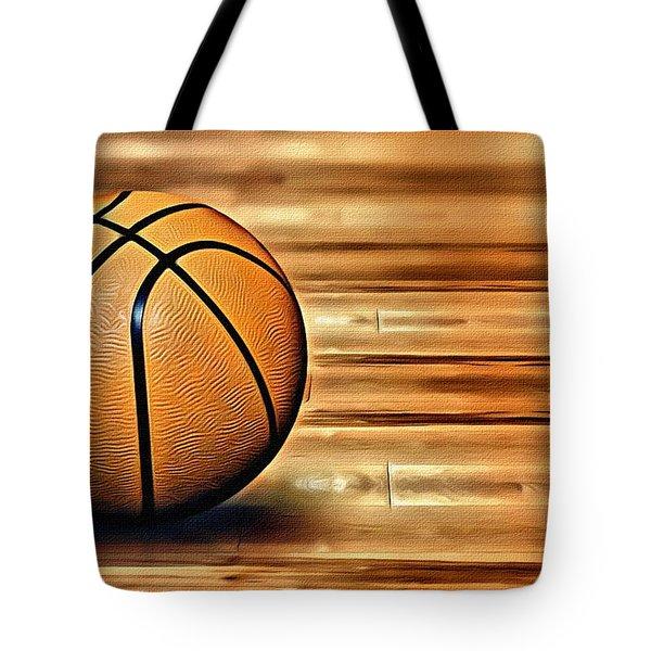 The Basketball Tote Bag by Florian Rodarte