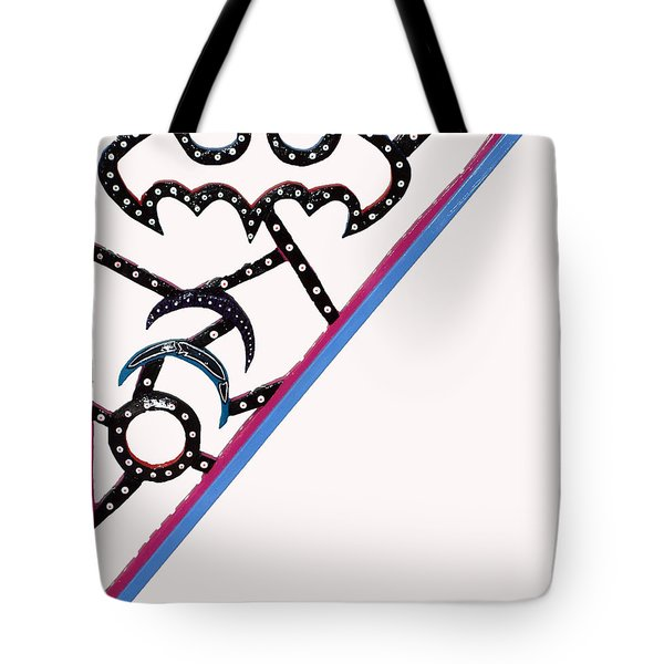 The Bat Signal Tote Bag by Robert Margetts