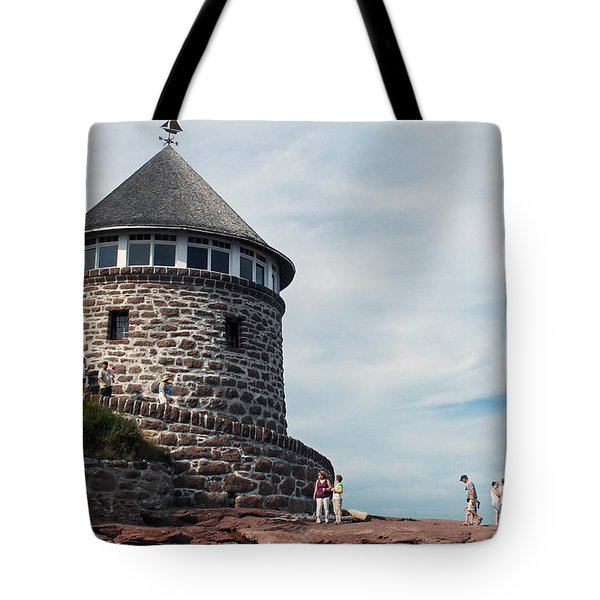 The Bath House On Ministers Island Nb Tote Bag