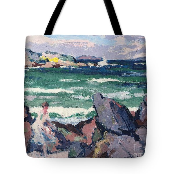 The Bather Tote Bag by Francis Campbell Boileau Cadell