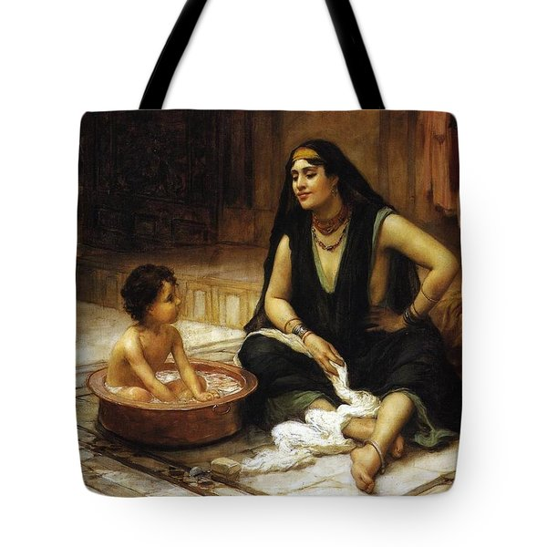 The Bathing Cove Tote Bag
