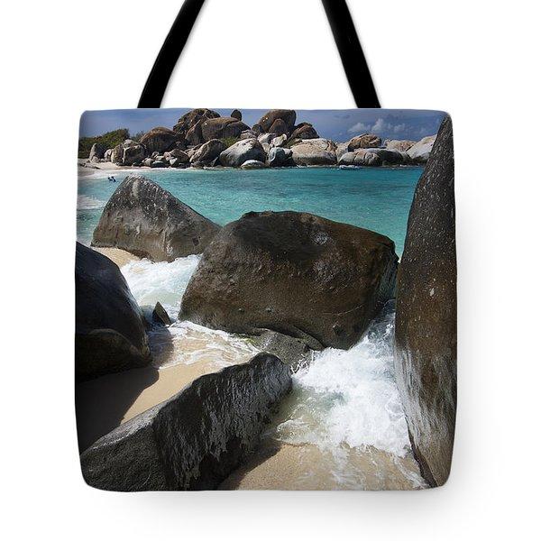 The Baths - Devil's Bay Tote Bag