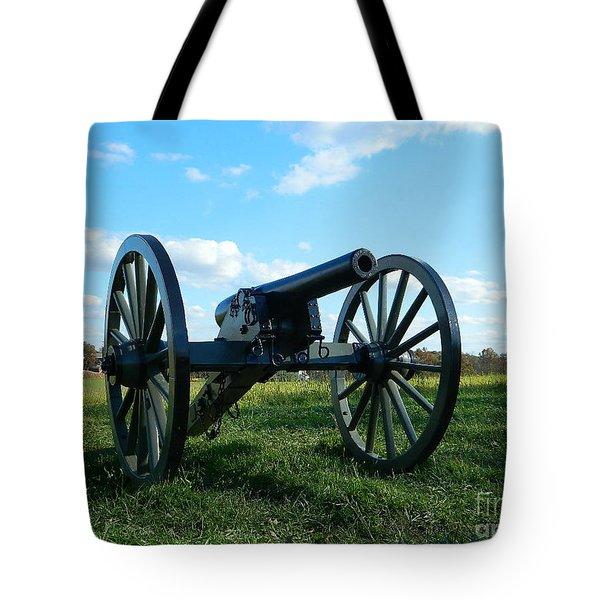 Tote Bag featuring the photograph The Battle Is Over - Gettysburg by Emmy Marie Vickers