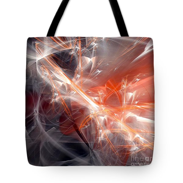 Tote Bag featuring the digital art The Battle by Margie Chapman