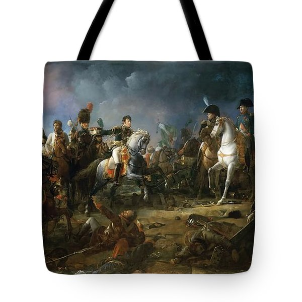 The Battle Of Austerlitz Tote Bag