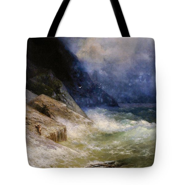 The Battle Of Bomarsund Tote Bag