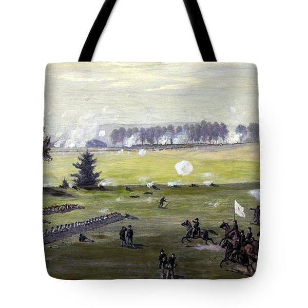 the Battle of Gettysburg Tote Bag