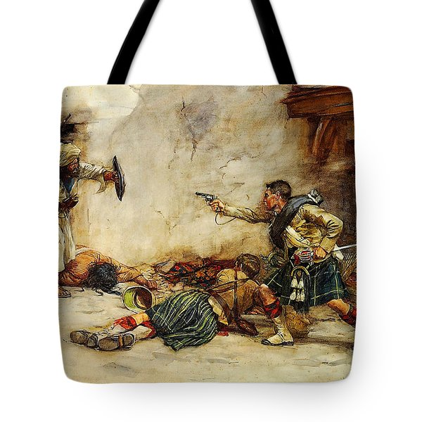 The Battle Of Kandahar Tote Bag