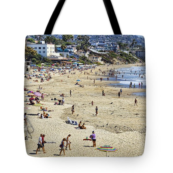 The Beach At Laguna Tote Bag by Kelley King