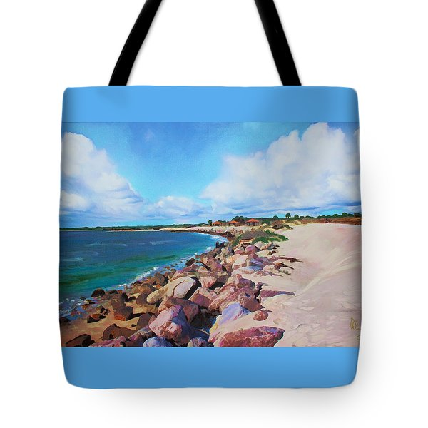 The Beach At Ponce Inlet Tote Bag