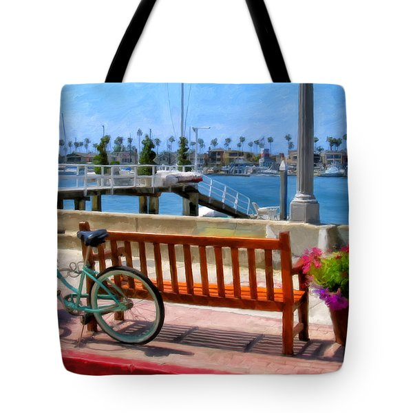 The Beach Cruiser Tote Bag