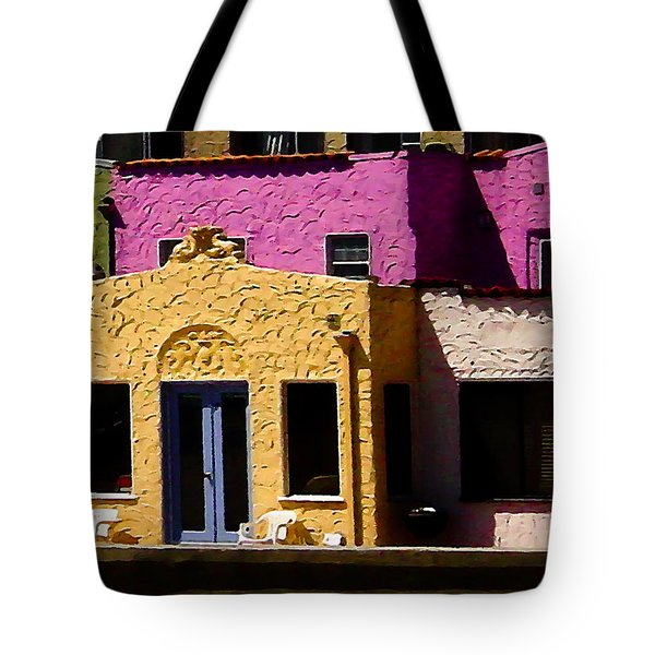 Tote Bag featuring the photograph The Beach House by Jim Thompson