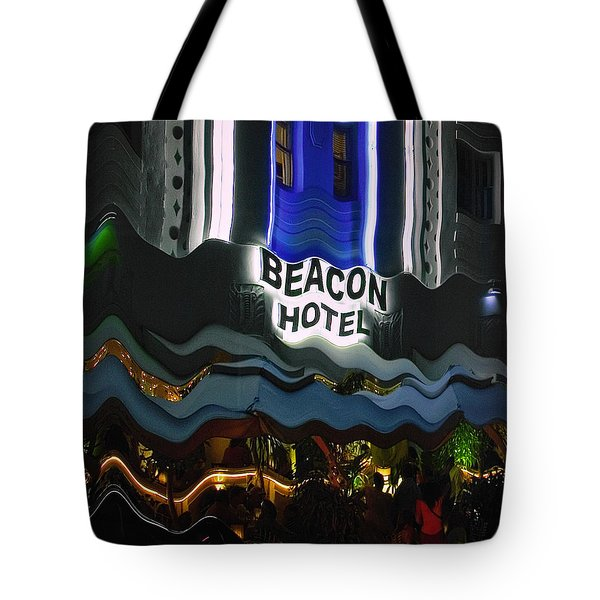 The Beacon Hotel Tote Bag by Gary Dean Mercer Clark
