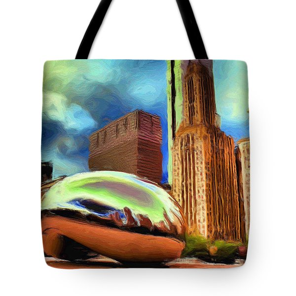 The Bean - 20 Tote Bag by Ely Arsha