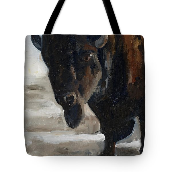 The Bearded One Tote Bag by Billie Colson
