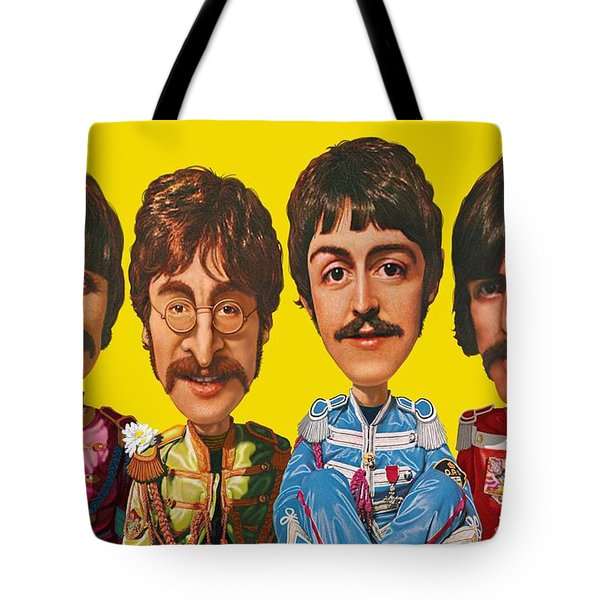 The Beatles Tote Bag by Scott Ross