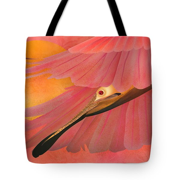 The Beauty Flight - Limited Edition 1 Of 10 Tote Bag