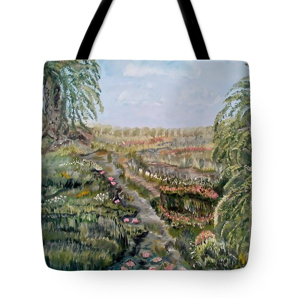 The Beauty Of A Marsh Tote Bag by Felicia Tica