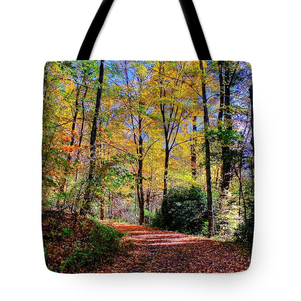 The Beauty Of Fall Tote Bag