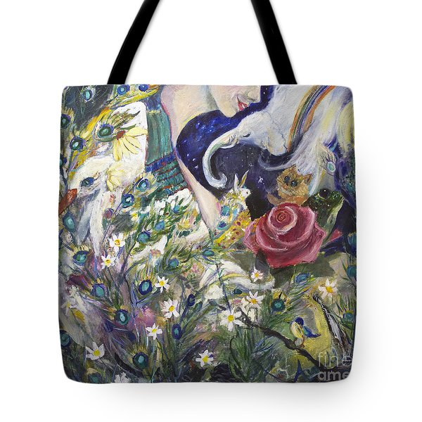 The Beauty Of Form Tote Bag by Avonelle Kelsey