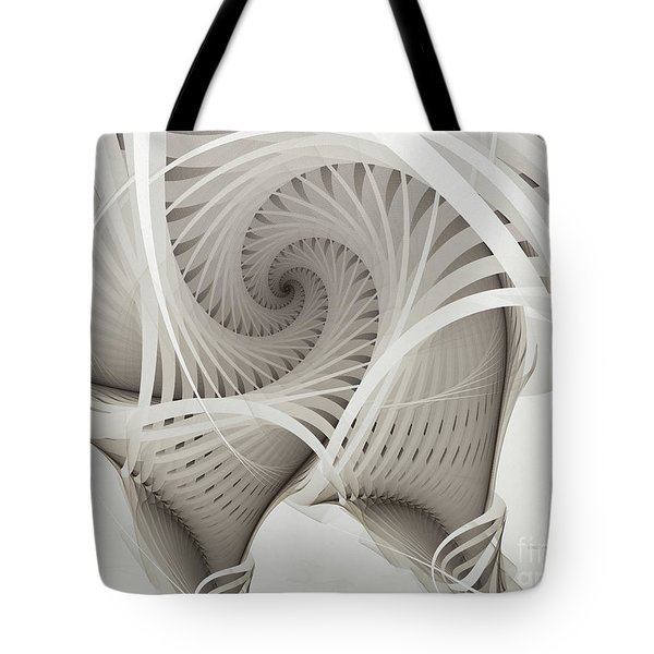 The Beauty Of Math-fractal Art Tote Bag