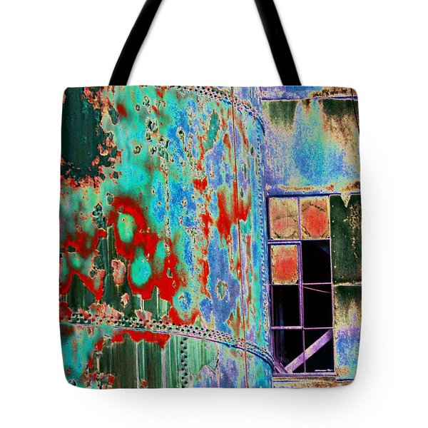 The Beauty Of Steel Tote Bag