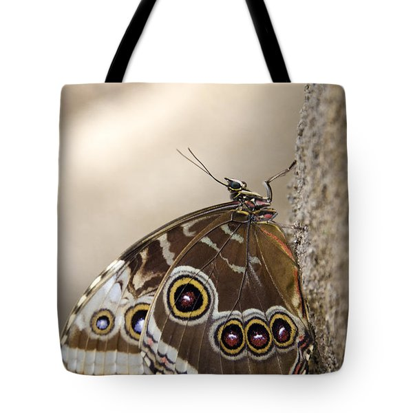 The Beauty Of The Butterfly  Tote Bag by Saija  Lehtonen