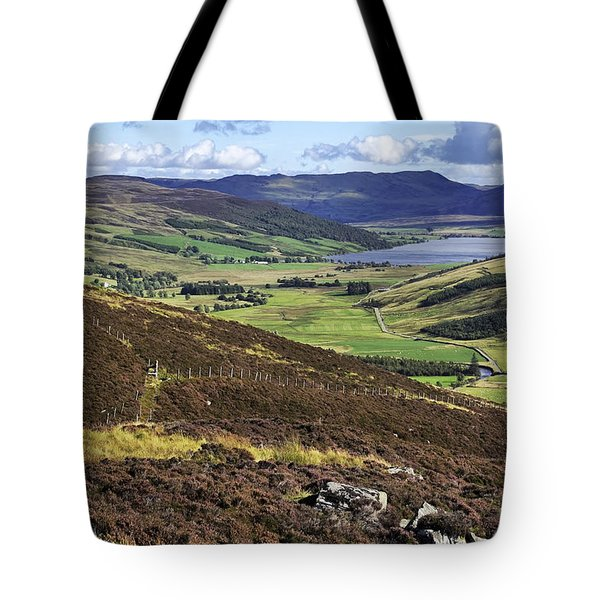 The Beauty Of The Scottish Highlands Tote Bag