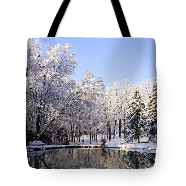 The Beauty Of White Tote Bag