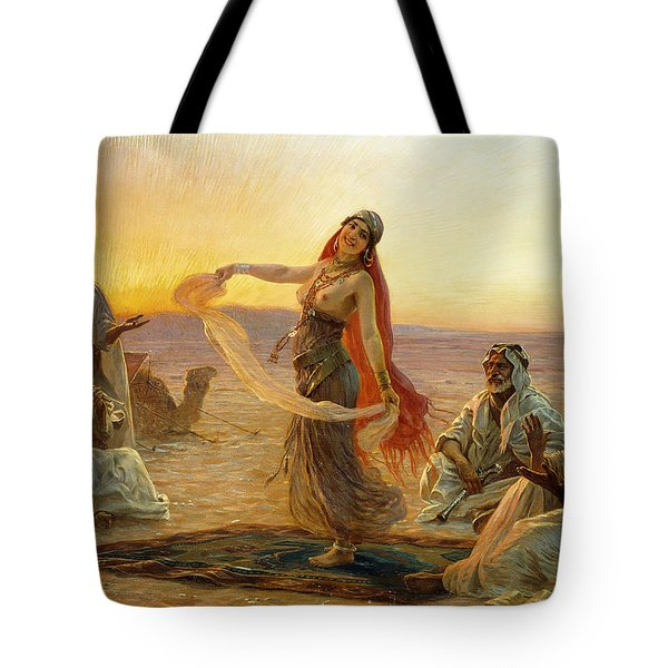 The Bedouin Dancer Tote Bag by Otto Pilny